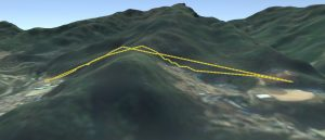Visualization of path planning